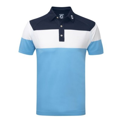 FJ Lisle Colour Block Space Dye Self Collar