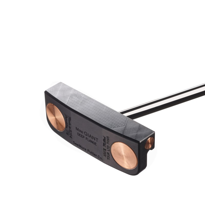 Mini GIANT Deep Flange Black / Standard RST (P1525S)