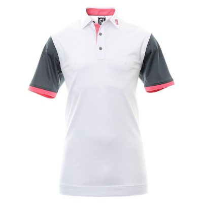 FootJoy Colourblock Pique Golf Shirt 92109