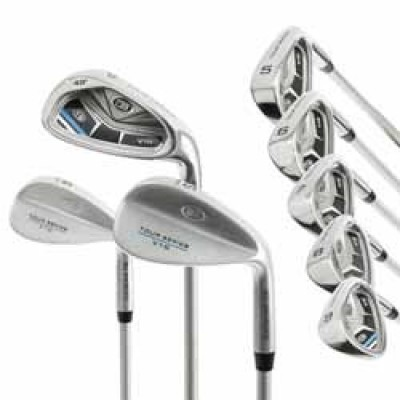 U.S. Kids TS54-V10 8 Club Iron Set (do 140 cm)