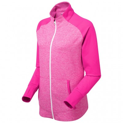 Footjoy Women's Full Zip Brushed Back Chill-Out 94352