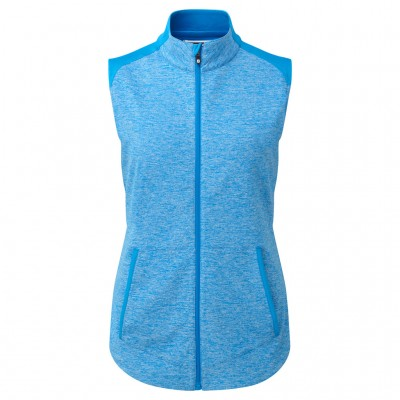 Footjoy Women's Full Zip Brushed Back Chill-Out Vest 94363