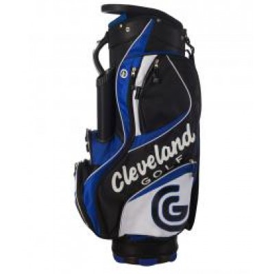 Cleveland CG Cart Bag Black, Blue, White